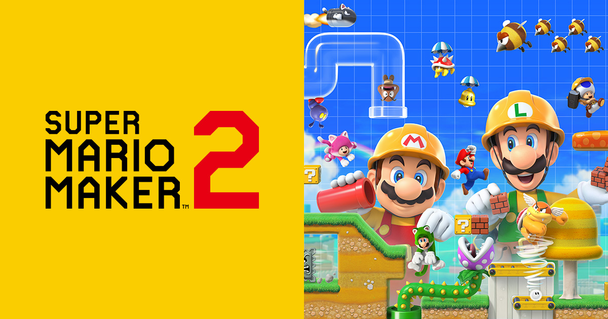 Image result for Super Mario Maker 2