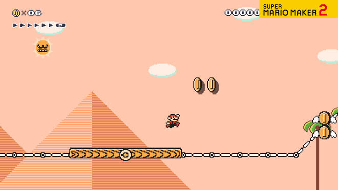 Super Mario Bros 3 World 2 Pyramid
