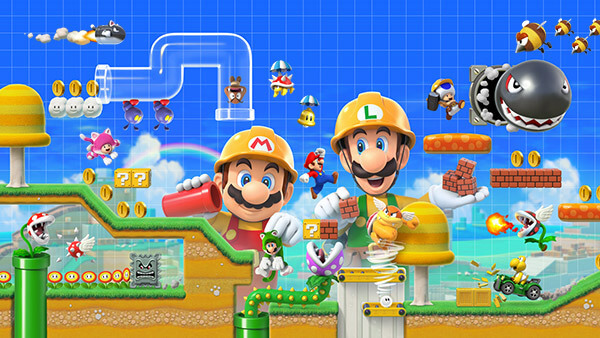 Super Mario Maker 2 artwork