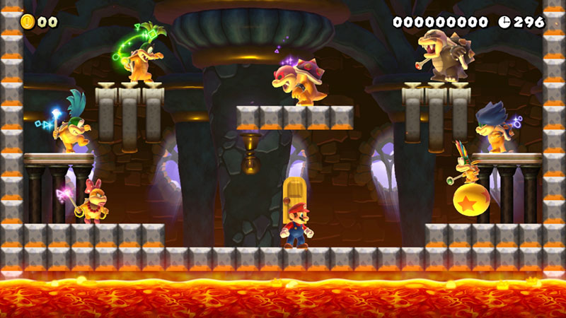 Super Mario Maker 2 - Koopalings