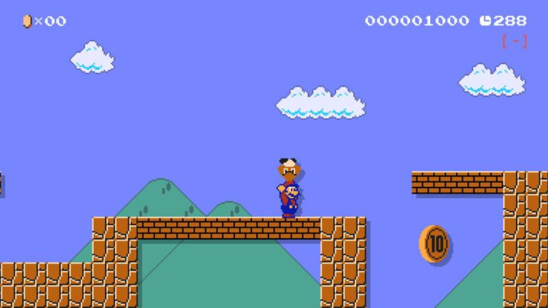 Super Mario Maker 2 - Super Mario Bros. 2 Powerup