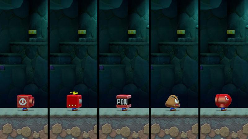 Super Mario Maker 2 - Cannon Box, Propeller Box, Goomba Mask, Bullet Bill Mask & Red POW Box